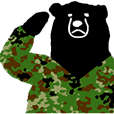 GSDF bears sticker