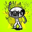 "The angry guy! japanese ""OJISAN"""