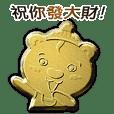 招財黃金熊