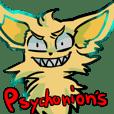 Psychonion's Sticker