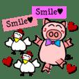 smile & smile (English)