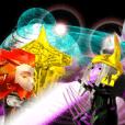 神話シリーズ-ラグナロク3Dスタンプ英語版