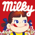 Milky PEKO Sticker