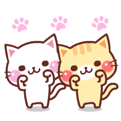 สติ๊กเกอร์ไลน์ Animated Cats 2