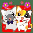 Puss Sticker ~English~