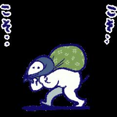 สติ๊กเกอร์ไลน์ INU the Dog Animated 8