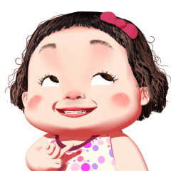 Lamyai Funny Girl Animated