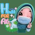 Nada 5 (Eng)Muslim hijab Healthy