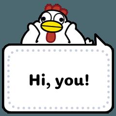 AyamChicken Message Stickers