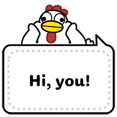 AyamChicken Message Stickers