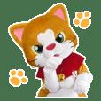 Cat mascot Nyankichi's stickers 01