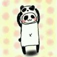 うさパンダの日常スタンプ 4