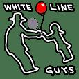白い線な奴