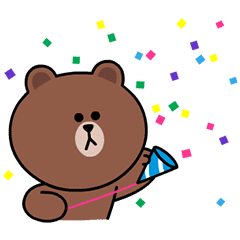 Brown, Cony & Sally: Animated Special – LINE stickers ...