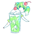 Melon cream soda - chan