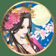 動く!美しい日本の和 美少女図鑑・花魁編