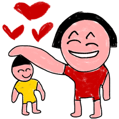Crayon Kids And Children Drawing Sketch Line Stickers Line Store
