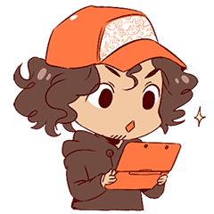 Boy With Curly Hair Line Stickers Line Store