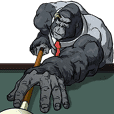 Office worker gorilla 2