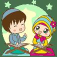 Pasangan Muslim : Tulus dan Bulan
