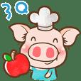 QQ Chirle Pig by Ellya(03)