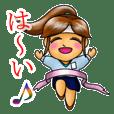 """新人OLの""""みつきちゃん"""""""