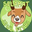 Rayakan lebaran ( bahasa indonesia )