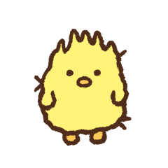 Frizzy chick (Korean)