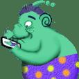 Makhluk hijau-dodo