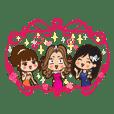 Charming cabaret girls