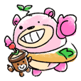 Tanemakisuki&hagukkuma Sticker Ver.1.1