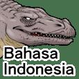 STIKER DINOSAURUS(bahasa indonesia)