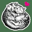 しろくろ猫ズ(関西弁)