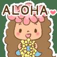 Sweet & dreamy hula girl (English ver.)