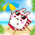 Summer of mochi rabbit