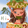 CHOU CHOU's Holiday in Hawaii [EX]