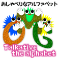 Talkative the alphabet