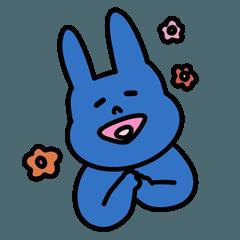 파란 토끼