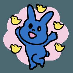 파란 토끼 2