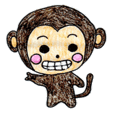 Monkichi Sticker