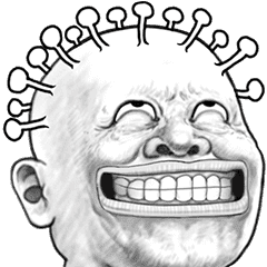 Skin head 27 moves (no dialogue)