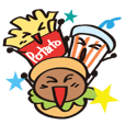 Burger Kun Thanks Set (English edition)