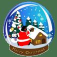 くまモンのスタンプ(クリスマス)