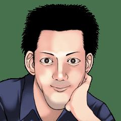 シミーズ・ユー マスコットを目指した男 - LINE スタンプ | LINE STORE