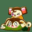 リン&キャンディの便利な(?)敬語スタンプ