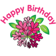 happy birthday send you flowers