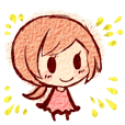 Emoticons girl Sticker