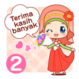 Girls' Everyday Stickers (Indonesia) 2