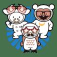 Moo! Moo! & Friends! ゆるゆる天国 ③