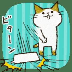 Cute cat 'Cyanpachi'. no.3